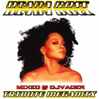 Diana Ross - Tribute Megamix (Mixed @ DJvADER)