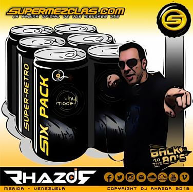 Dj Rhazor - Six Pack Super Retro Volumen 02