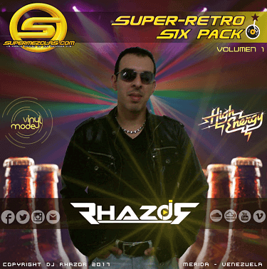 Dj Rhazor - Six Pack Super Retro Volumen 01