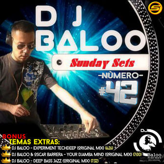 Sunday Sets Numero 42 de Dj Baloo en SuperMezclas.com