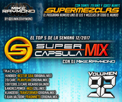 Super Capsula Mix - Dj Mike Raymond SCM 92