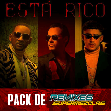 Marc Anthony Ft Will Smith + Bad Bunny - Esta Rico Remixes (SuperMezclas.com)