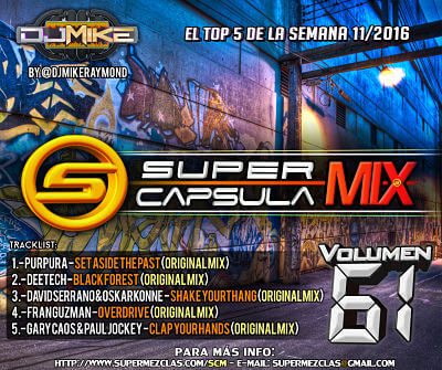 #SuperCapsulaMix #Volumen61