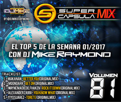 SUPER CAPSULA MIX CON DJ MIKE RAYMOND VOL 81