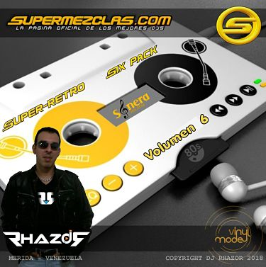 Dj Rhazor - Six Pack Super Retro Volumen 06