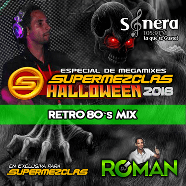 DJ ROMAN - RETRO80s MIX