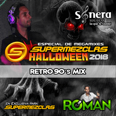 DJ ROMAN - RETRO 90's MIX