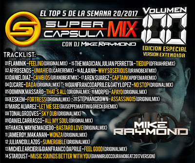 SuperCapsulaMix de Dj Mike Raymond Volumen 100