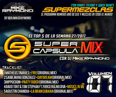 SuperCapsulaMix de Dj Mike Raymond Volumen 107