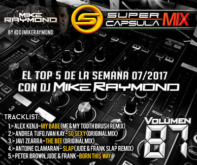 Super Capsula Mix - Dj Mike Raymond SCM 87