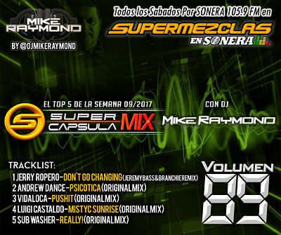 Super Capsula Mix - Dj Mike Raymond SCM 89