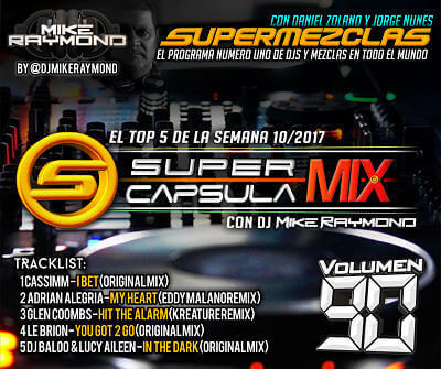 Super Capsula Mix - Dj Mike Raymond SCM 90