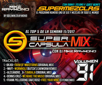 Super Capsula Mix - Dj Mike Raymond SCM 91