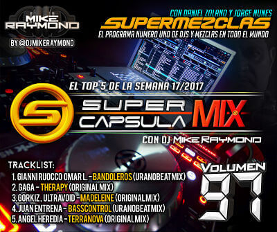 SuperCapsulaMix de Dj Mike Raymond Volumen 97