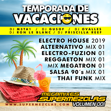 TEMP VACACIONES 2019 MEGAMIXES SPM VOL1