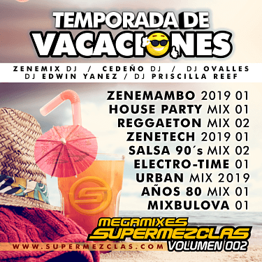 TEMP VACACIONES 2019 MEGAMIXES SPM VOL2