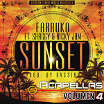 Farruko Sunset Featuring Shaggy y Nicky Jam - VERSION ACAPELLA STUDIO