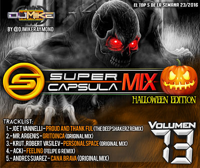 SuperCapsulaMix Halloween Edition Vol 73 - SuperMezclas.com