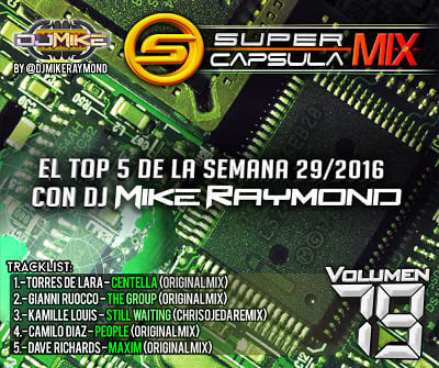 Super Capsula Mix - Dj Mike Raymond SCM 79